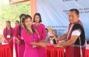 Image for The K'paw Htaw Technical and Vocational Education and Training Center Closing Ceremony of (1/2021) Batch