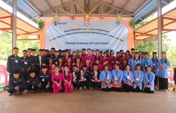 Image for K'paw Htaw Technical and Vocational Education and Training Center Closing Ceremony of (1/2021) Batch